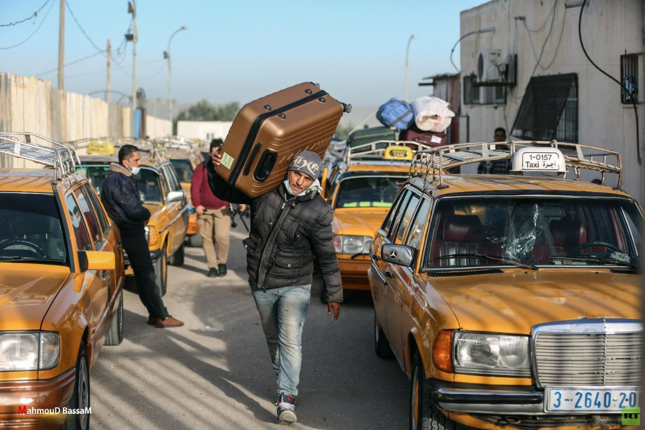 In pictures, the Rafah land crossing started in both directions today, Tuesday