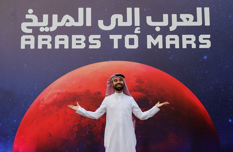 The UAE probe enters Mars orbit to be the first Arab mission to the Red Planet (video)