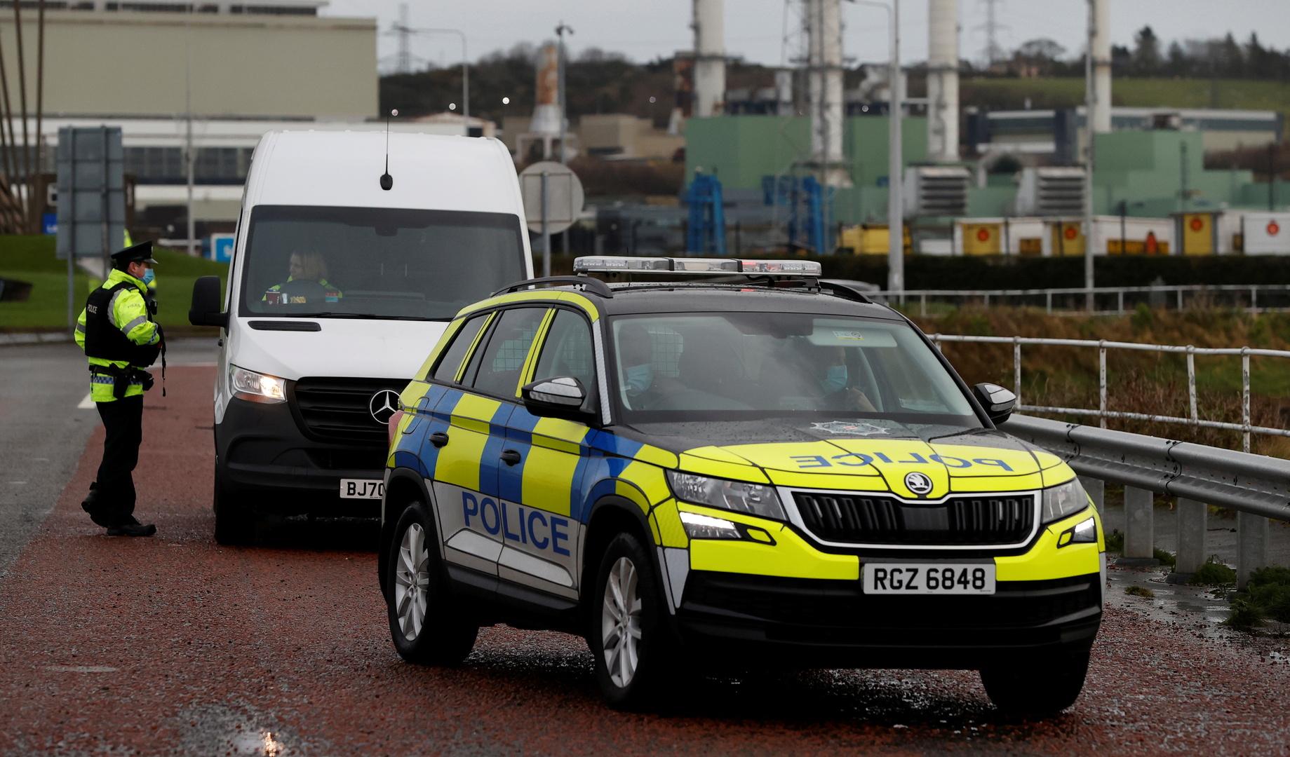 آليات تابعة للشرطة البريطانية