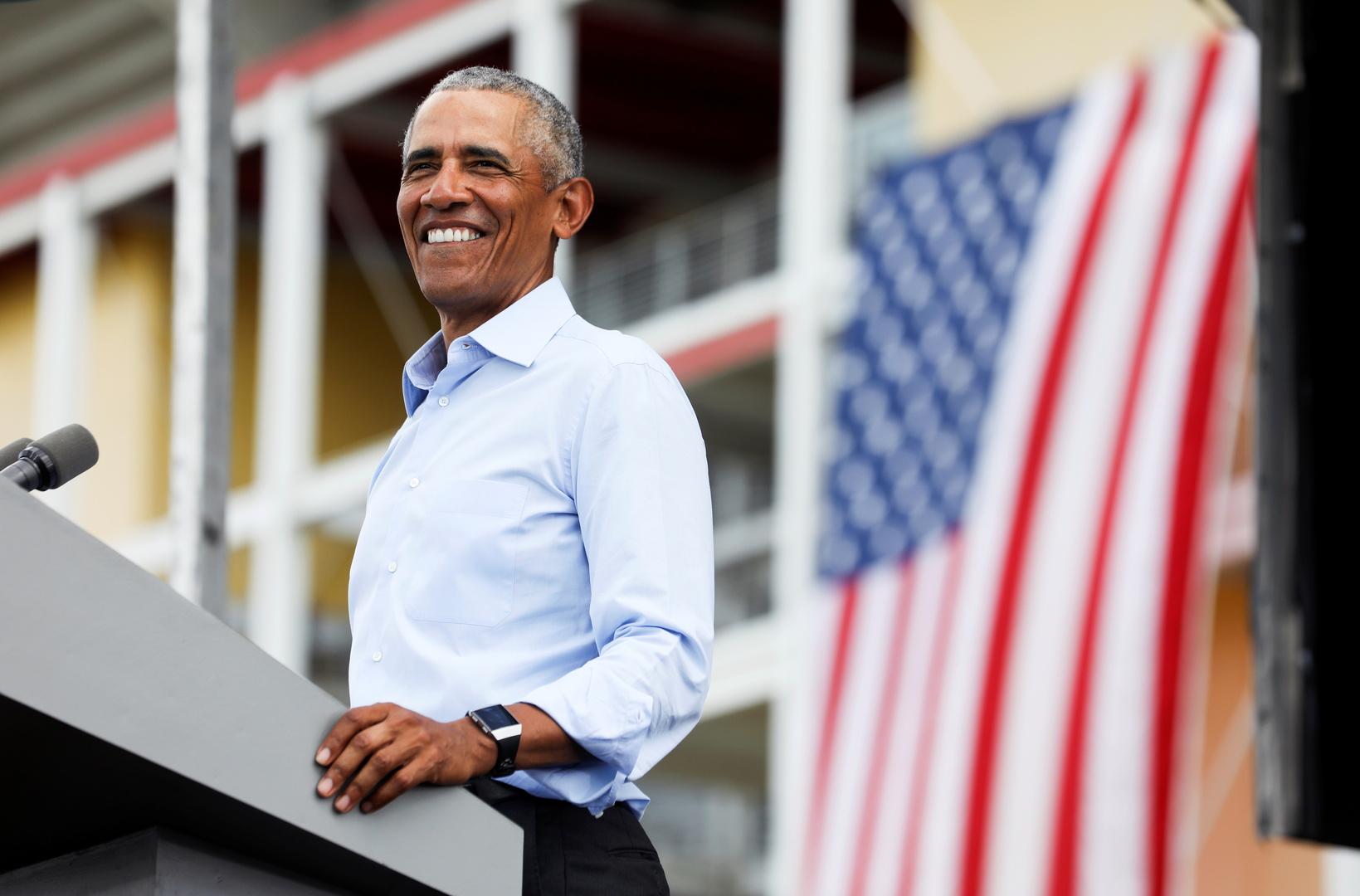 لم يلبسه ولا مرة واحدة..عرض حذاء أوباما للبيع بسعر ضخم