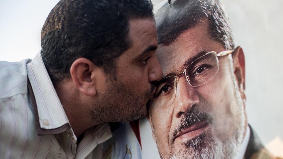 أثناء إحدى المظاهرات المؤيدة للإخوان المسلمين في العاصمة المصرية القاهرة (صورة أرشيفية)