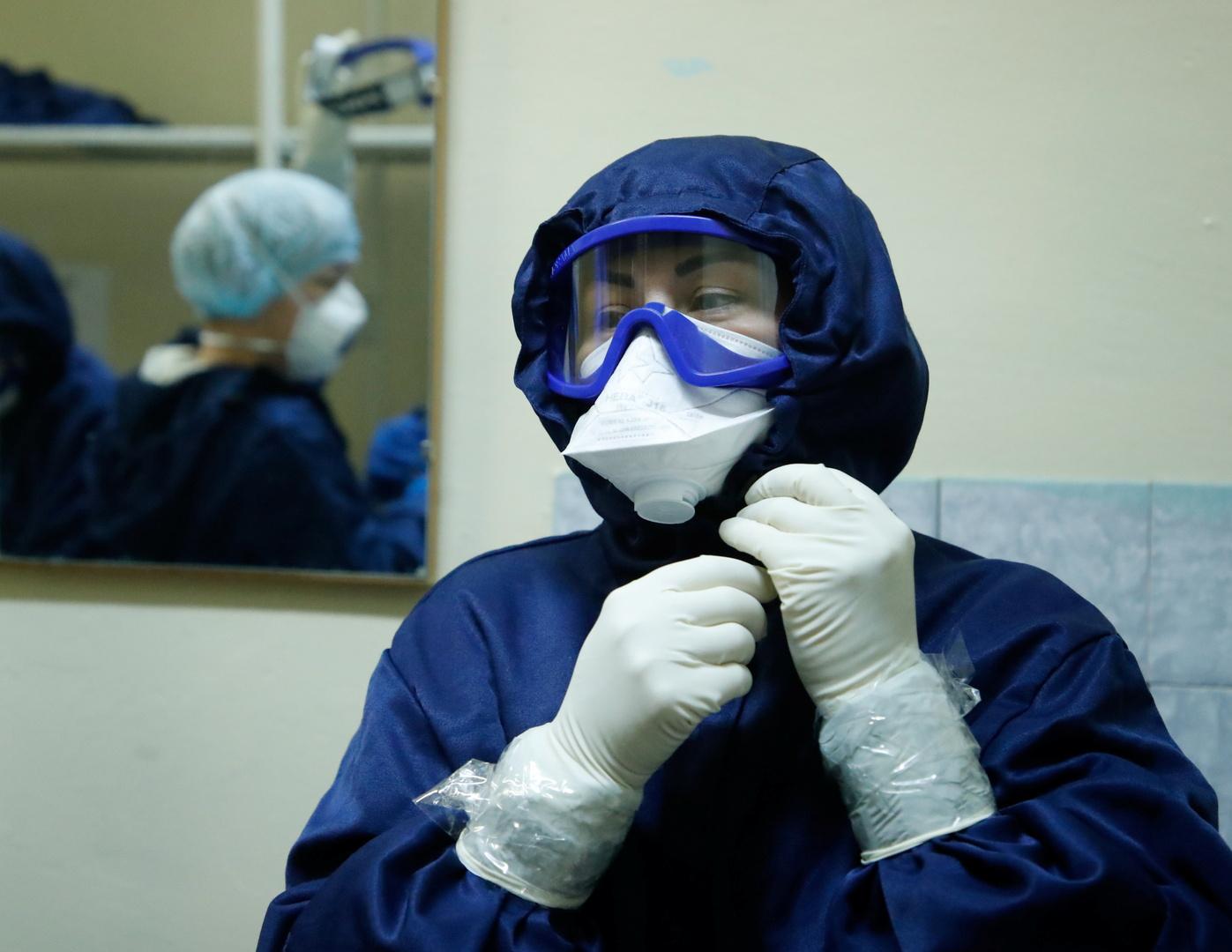 روسيا تسجل نحو 500 وفاة و15 ألف إصابة بكورونا خلال 24 ساعة