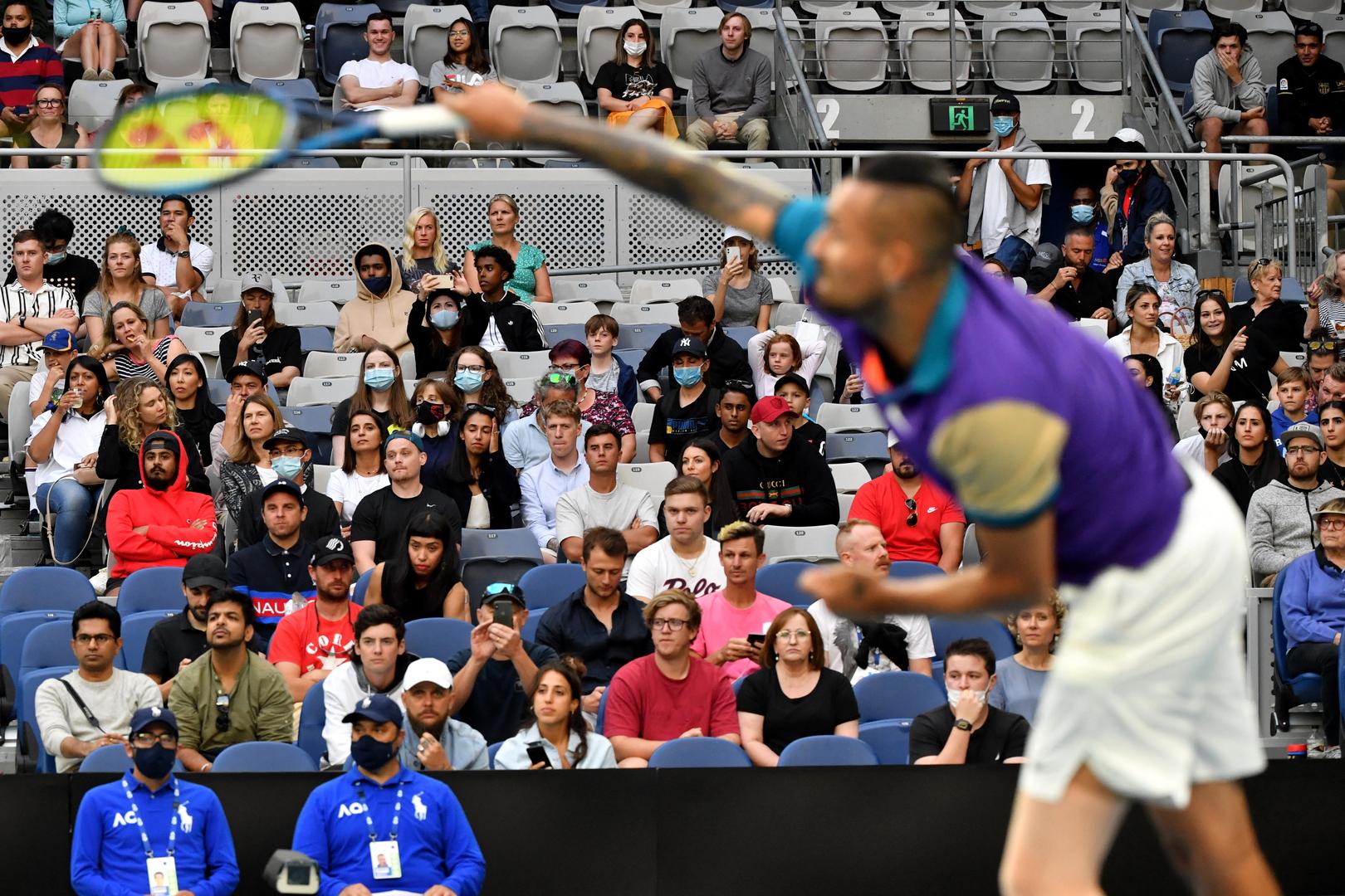 حالة من الفوضى في بطولة أستراليا المفتوحة