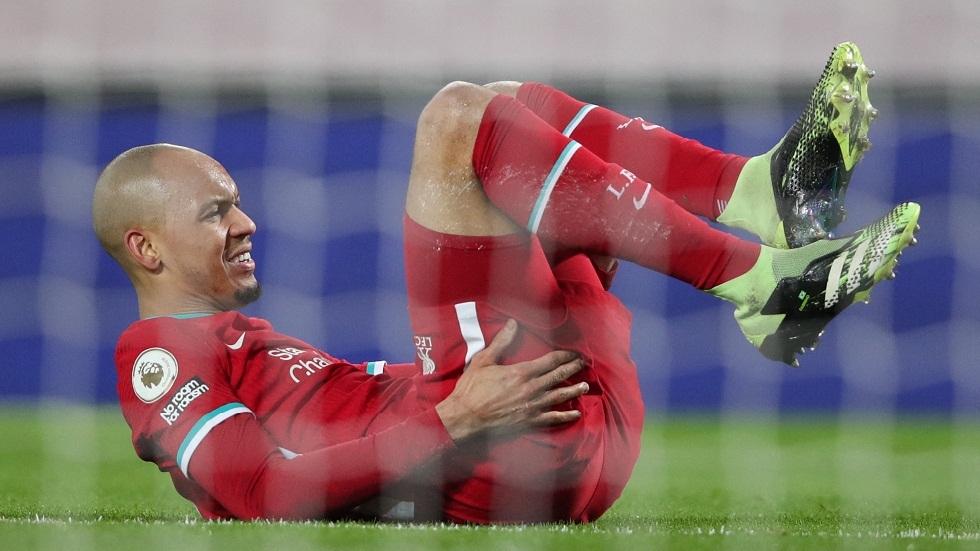فابينيو ينضم إلى قائمة المصابين في ليفربول