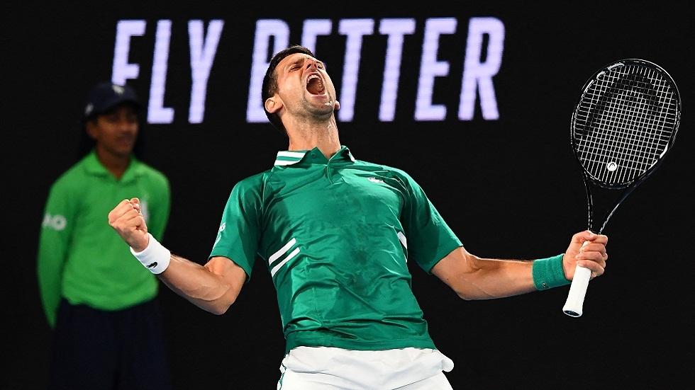 دجوكوفيتش وتيم إلى الدور الرابع لبطولة أستراليا المفتوحة