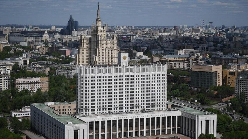 مبنى الحكومة الروسية - أرشيف