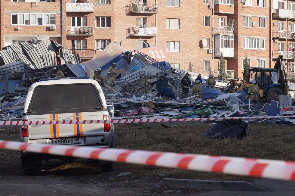 الشرطة الروسية: لم نعثر على مواد متفجرة بالمركز التجاري في فلادي قفقاز