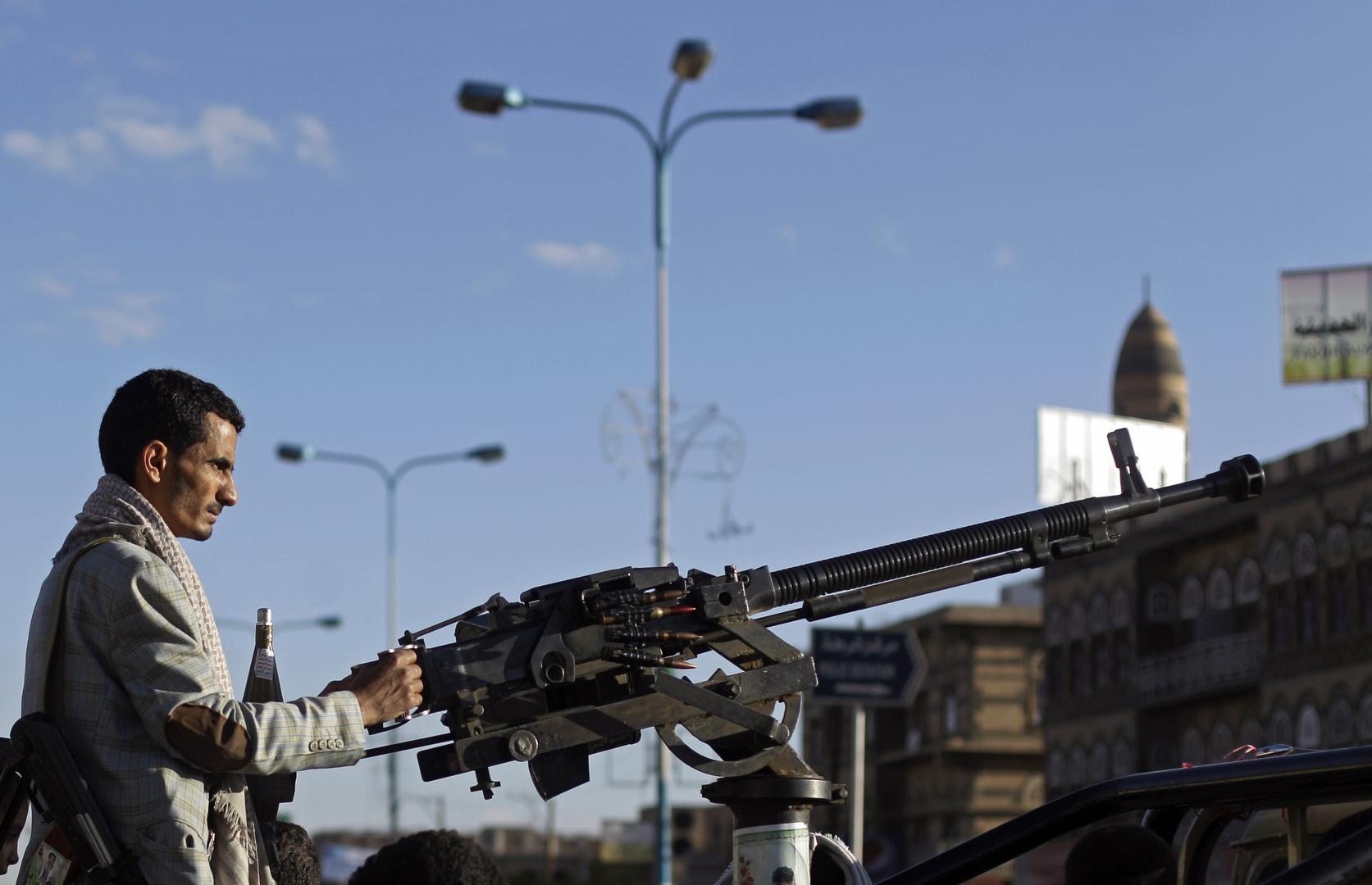 عنصر من القوات الحوثية في اليمن