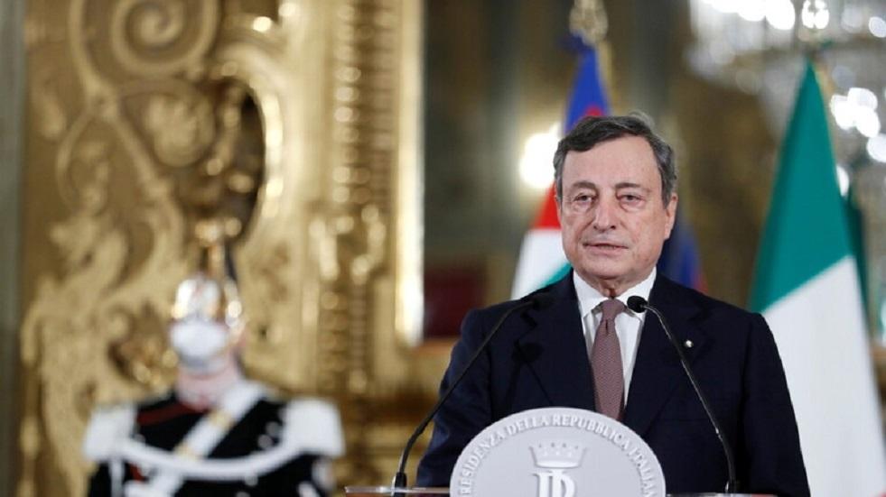 حكومة إيطاليا الجديدة برئاسة دراغي تؤدي اليمين الدستورية