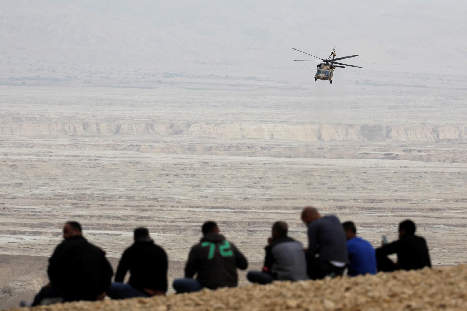 قتيلان جراء تحطم مروحية شمال إسرائيل