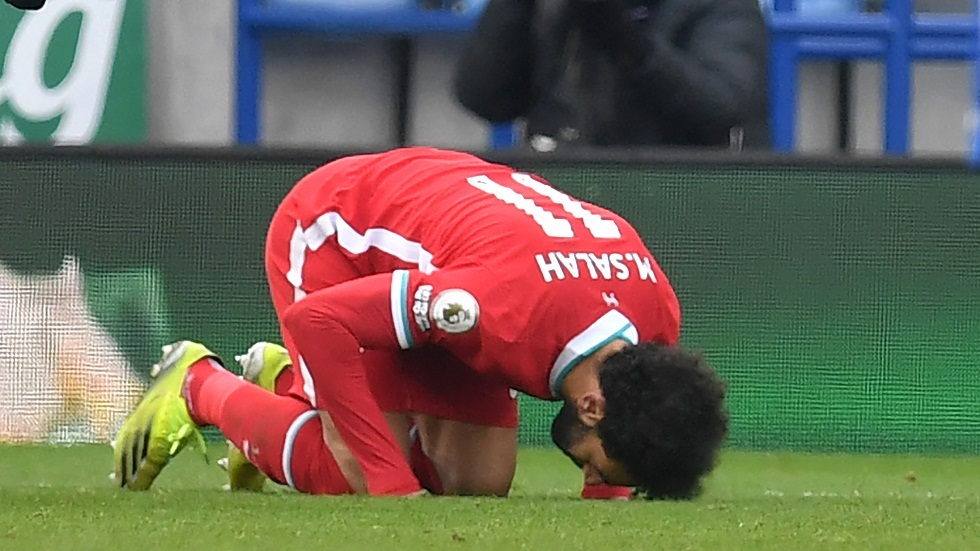 Mohamed Salah scores a great goal against Leicester after a charming Brazilian pass with the heel (video)