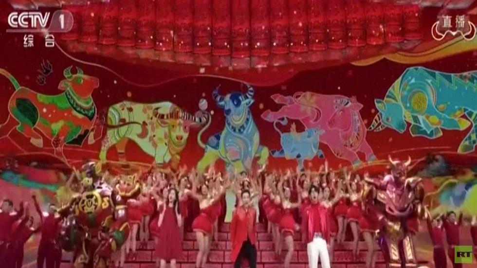 حفل مهرجان عيد الربيع الصيني يتصدر المشاهدات