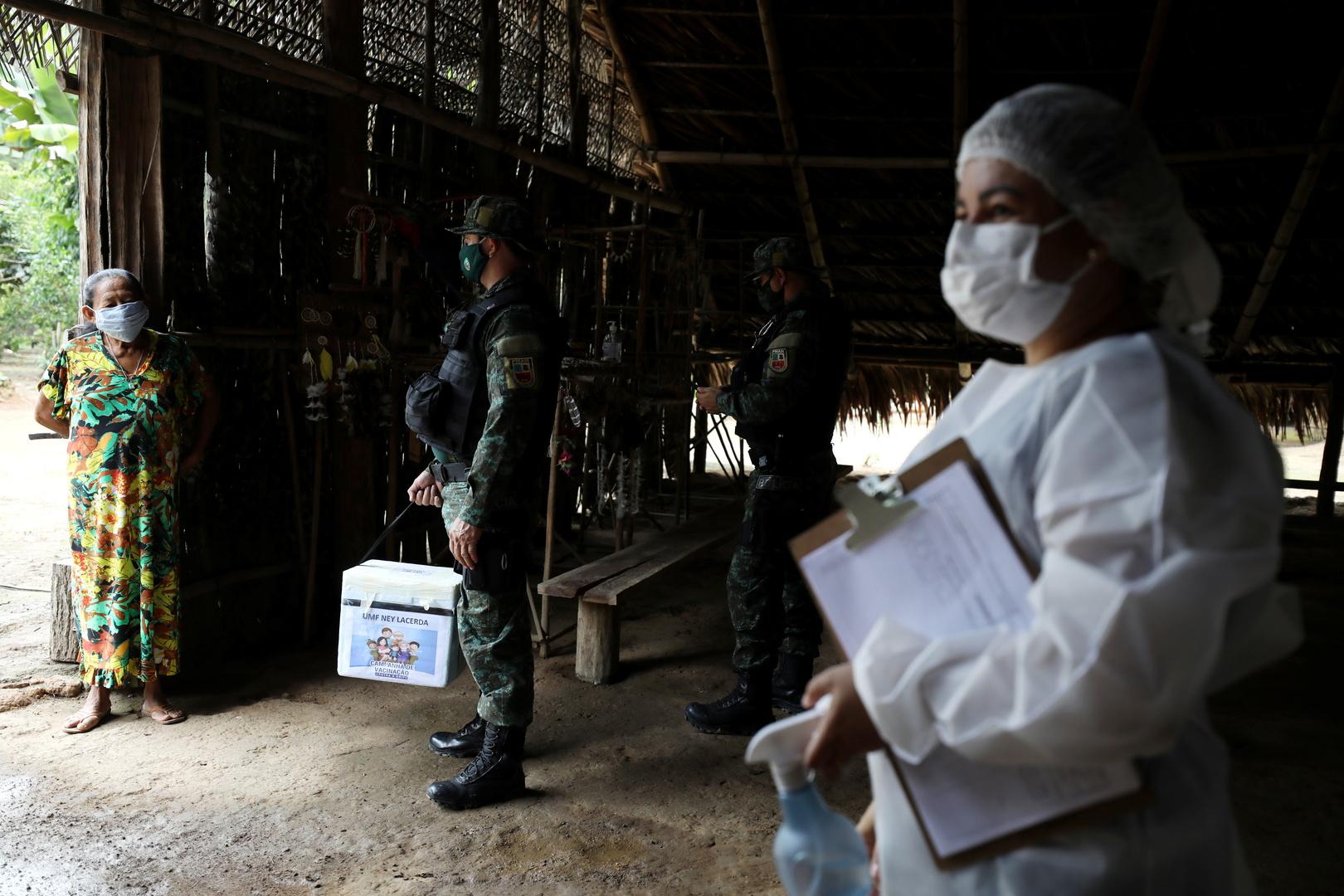 البرازيل.. 1043 وفاة و44299 إصابة جديدة بكورونا