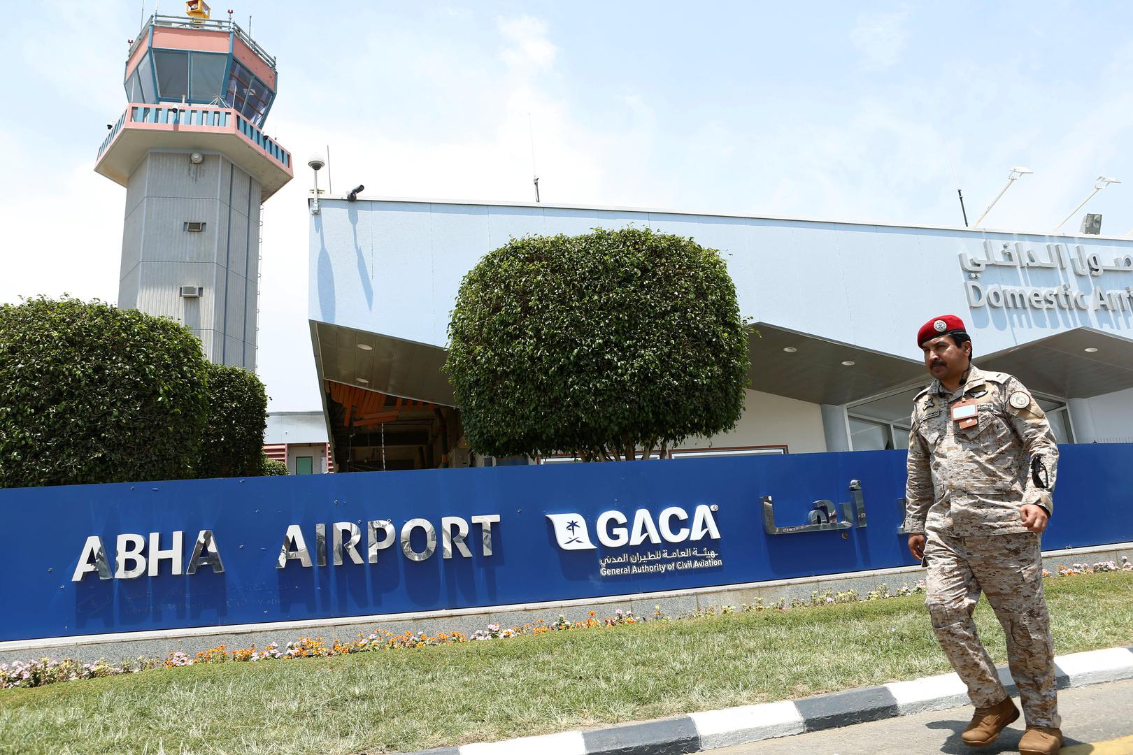 الحوثيون يعلنون عن قصفهم مطار أبها في السعودية للمرة الرابعة خلال أسبوع