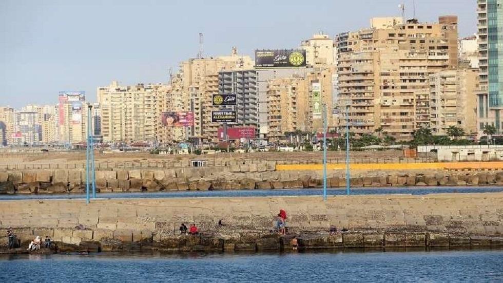 مدينة الإسكندرية في مصر - أرشيف