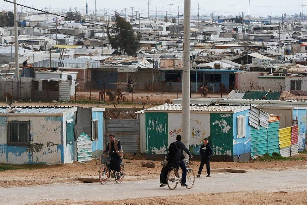 الأردن يطلق حملة تطعيم ضد كورونا في مخيم الزعتري للاجئين