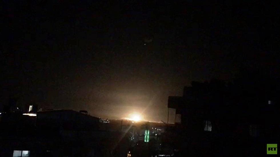 الدفاعات الجوية السورية تتصدى لعدوان إسرائيلي في أجواء محيط مدينة دمشق