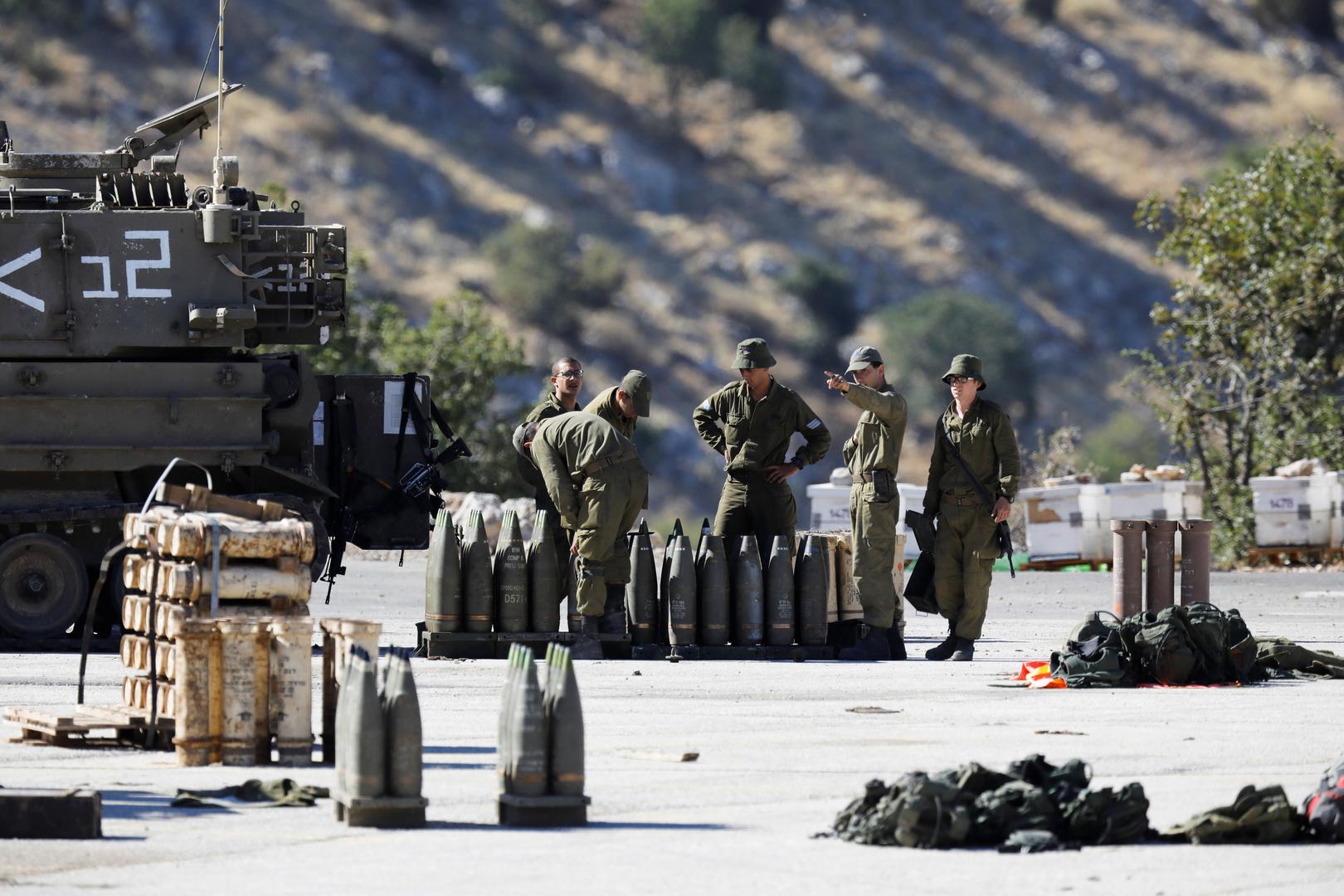 الجيش الإسرائيلي يبدأ