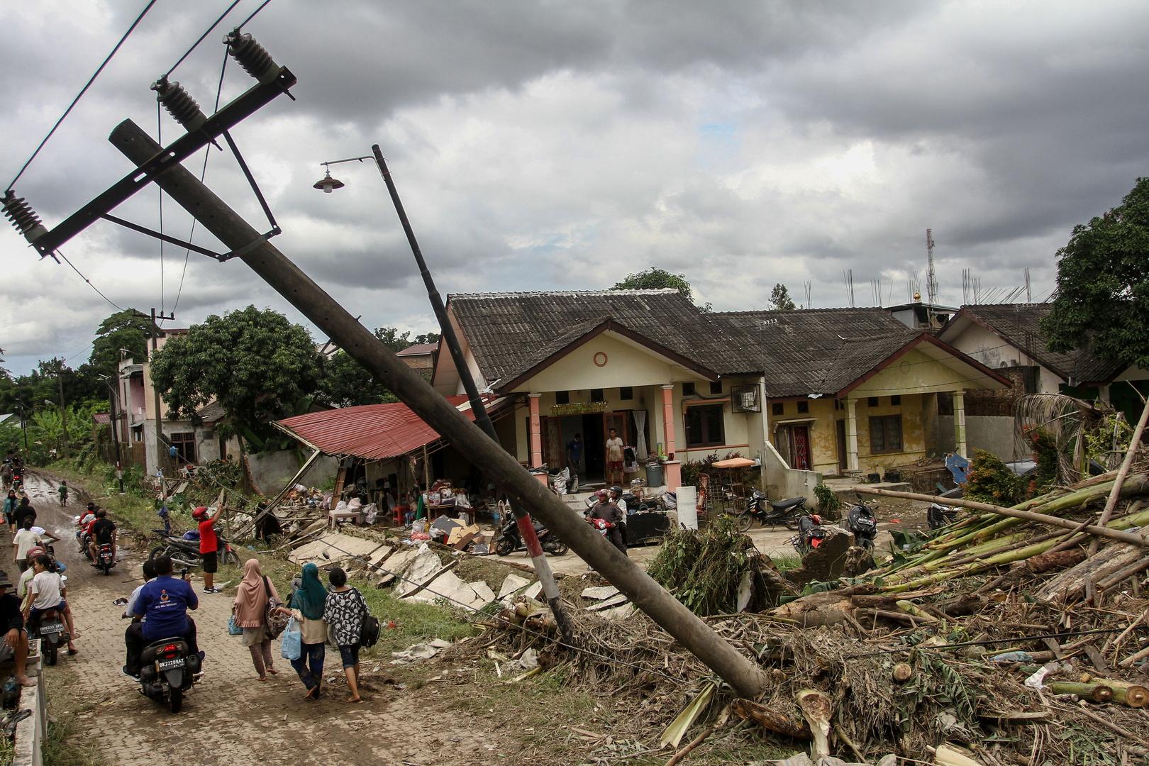 فيضانات في إندونيسيا