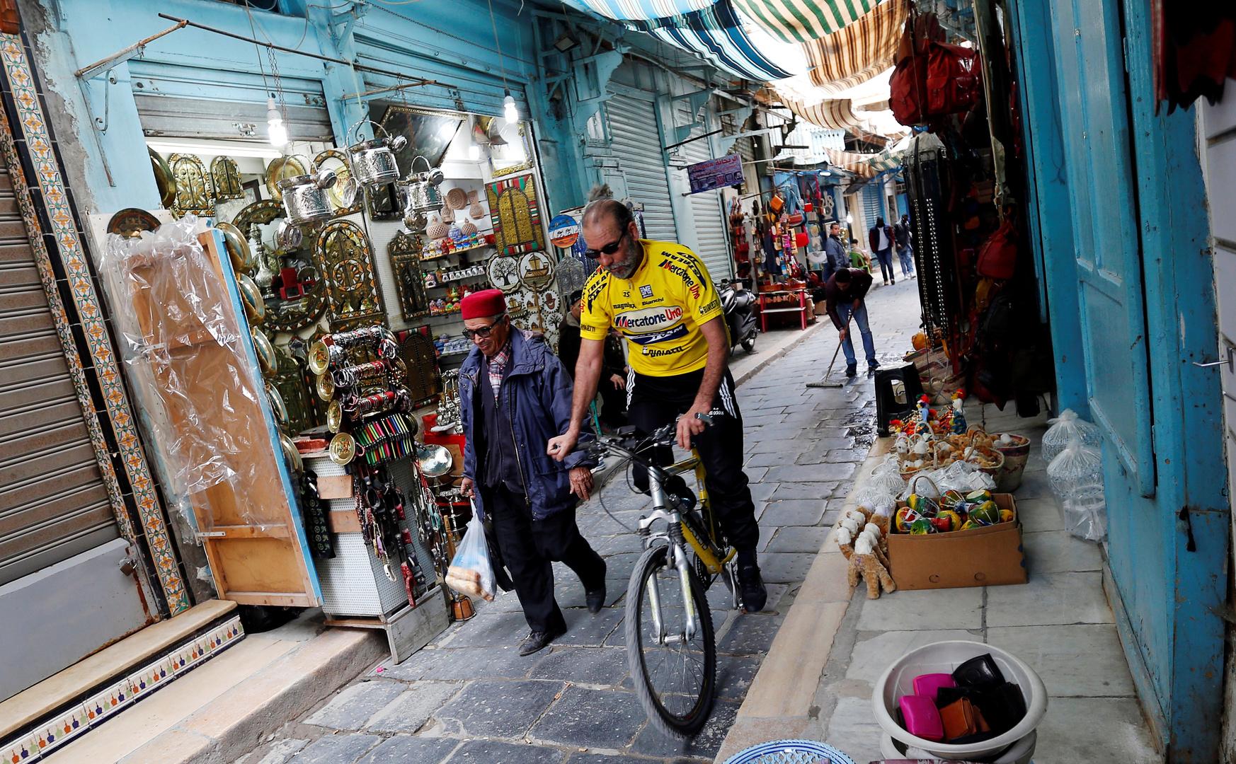 مدينة تونس العتيقة.