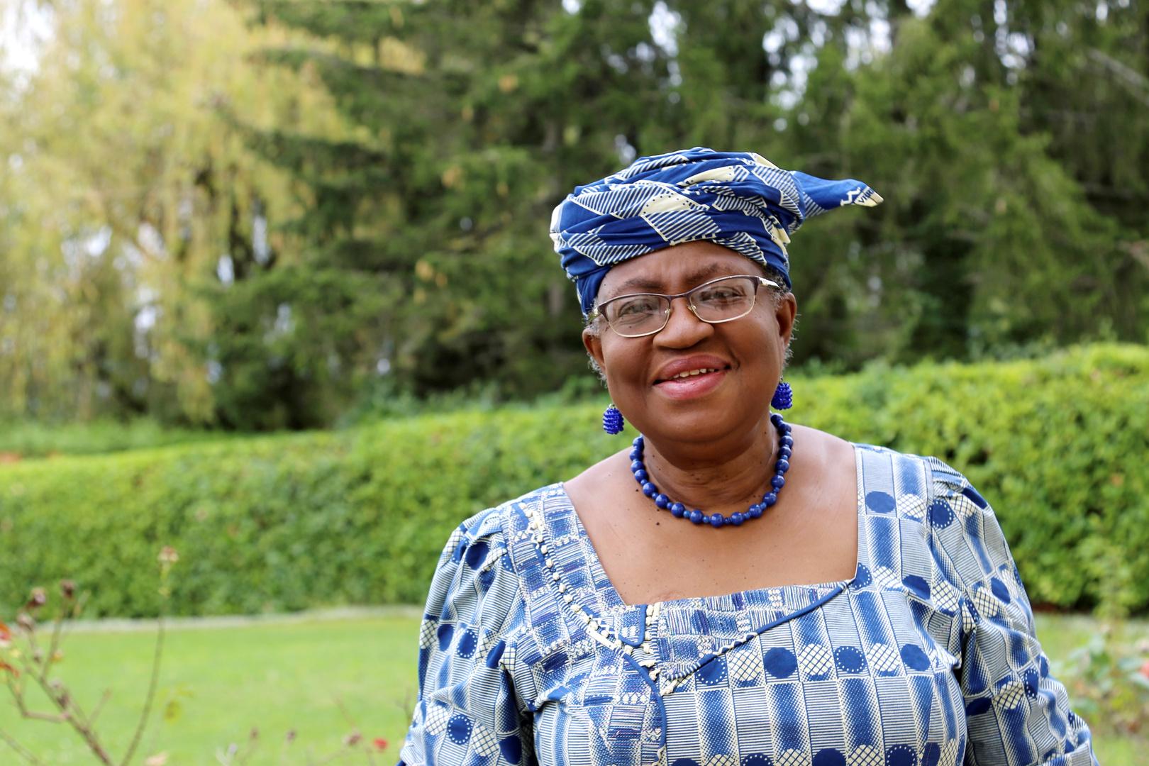 الخبيرة الاقتصادية النيجيرية نغوزي أوكونجو – إيويلا.