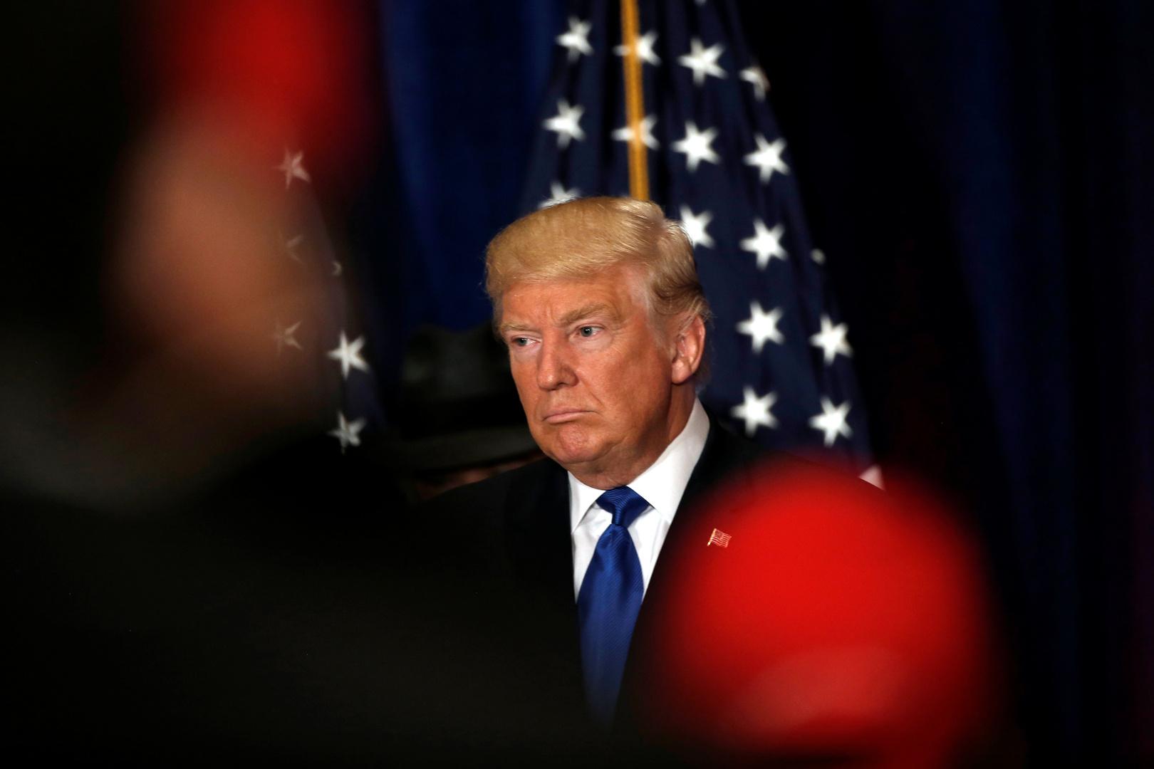 بعد أيام من اختفائه.. ترامب يظهر من جديد (فيديو)
