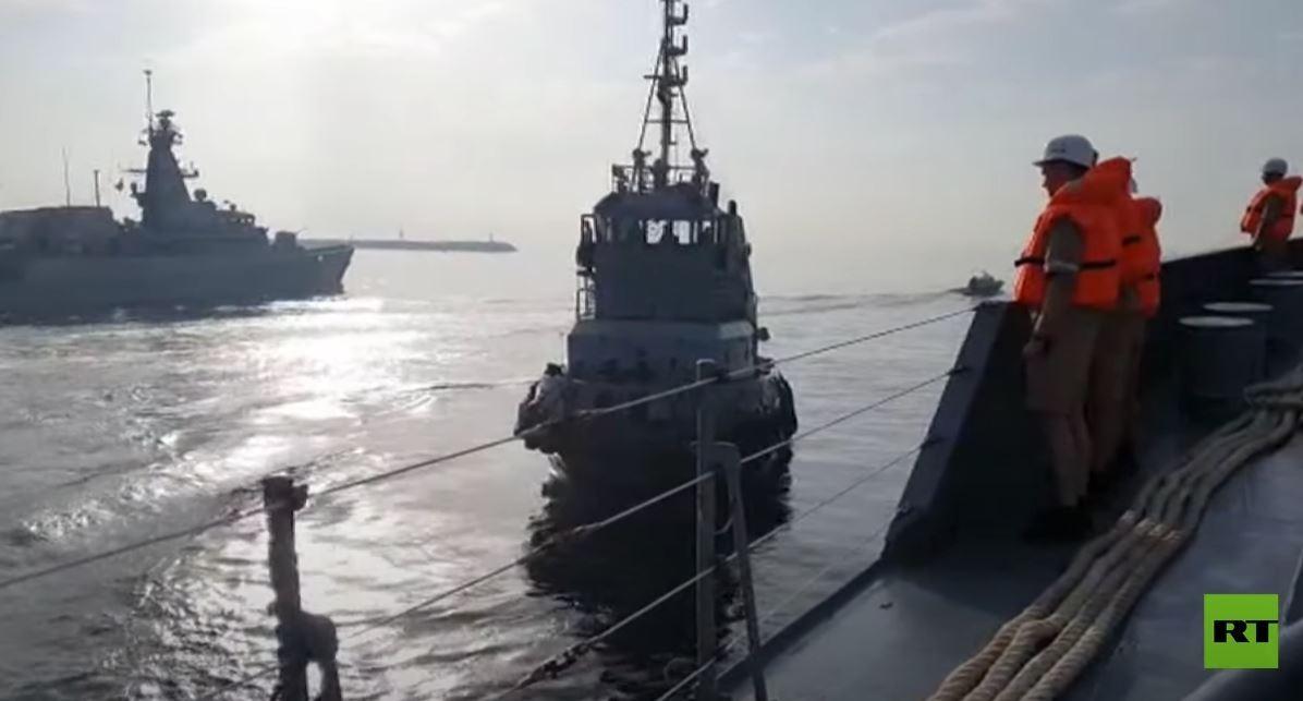 دخول سفن روسية بحر العرب للمشاركة في مناورات