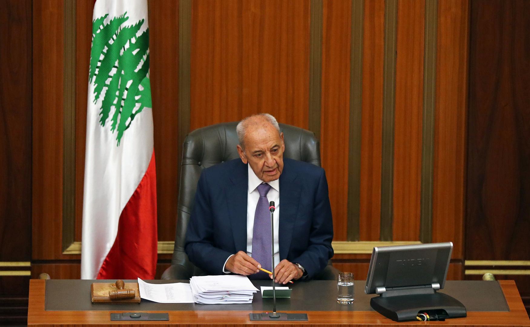 نبيه بري رئيس البرلمان اللبناني