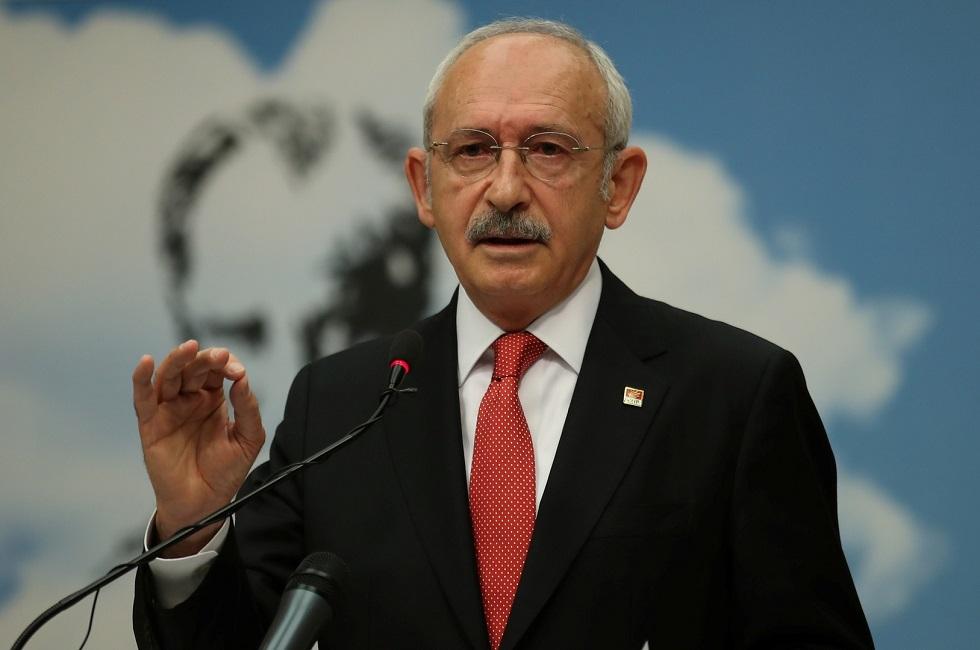 زعيم المعارضة في تركيا كمال كليجدار أوغلو
