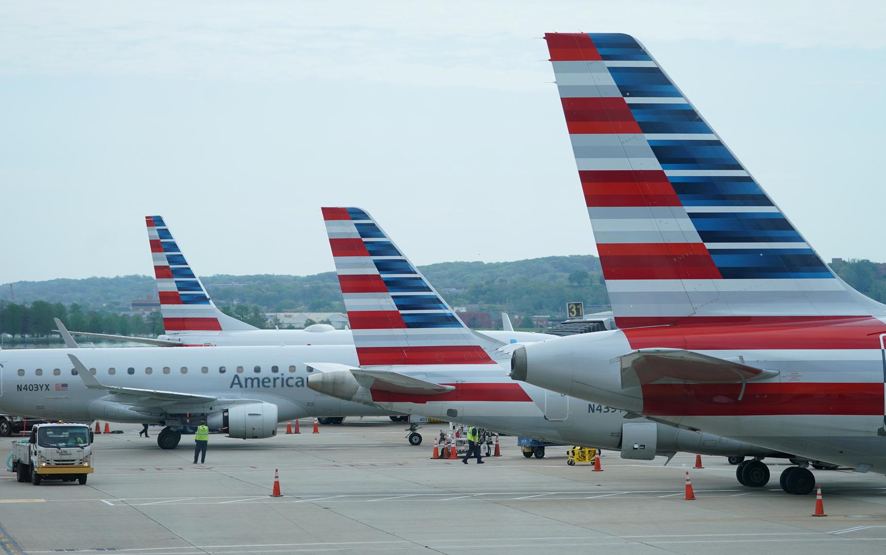 النقل الأمريكية: أعداد الركاب عبر شركات الطيران المحلية هبطت 60% في 2020
