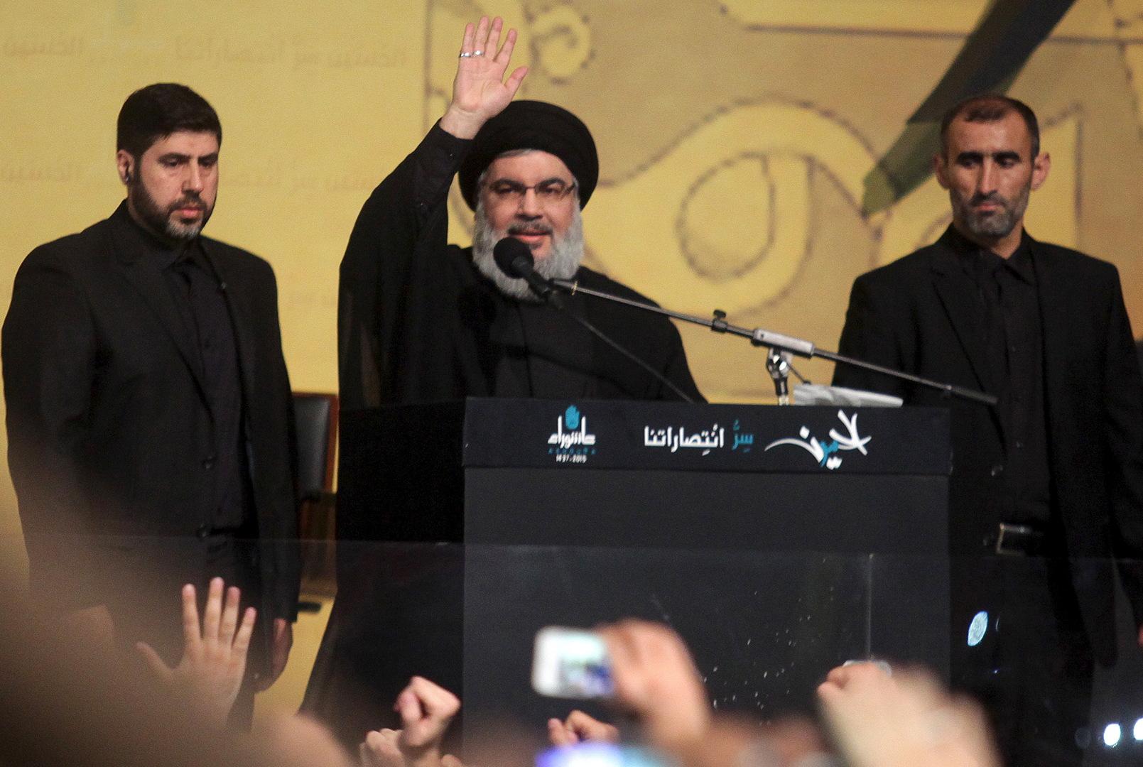 حسن نصر الله: نرفض اتهامنا بقتل الناشط لقمان سليم