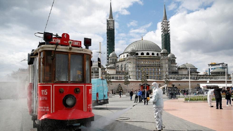 تركيا.. 90 وفاة وزهاء 8 آلاف إصابة جديدة بكورونا