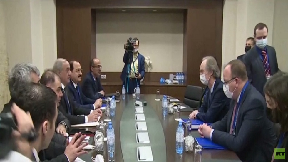 The work of the Astana talks in Sochi continues