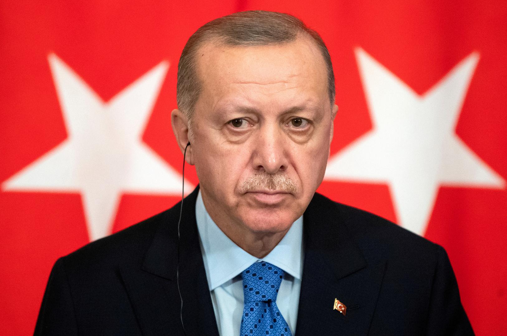 أردوغان يتعهد بمواصلة الحرب على الإرهاب:
