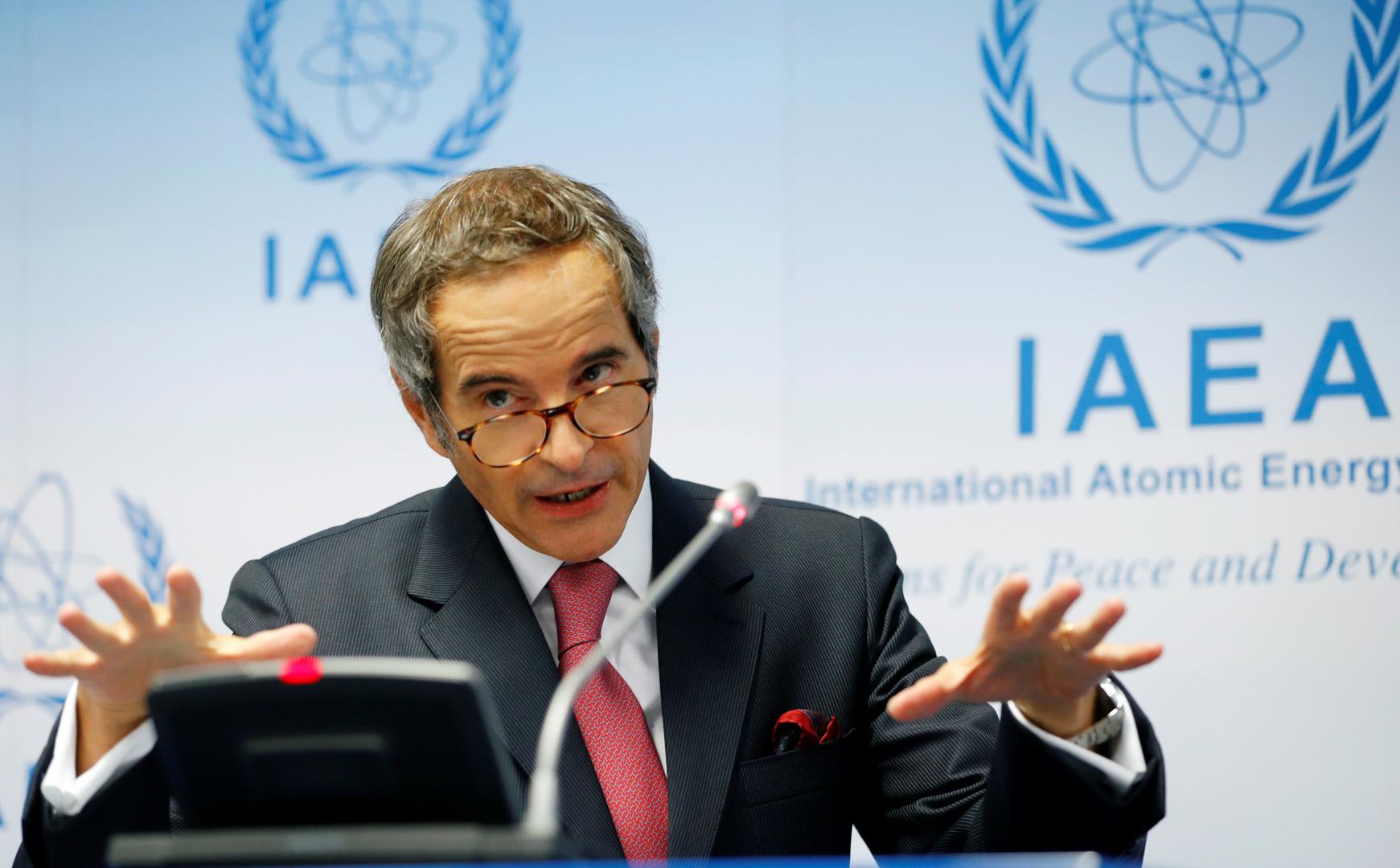 وسط توترات متصاعدة.. المدير العام للوكالة الدولية للطاقة الذرية يتوجه إلى إيران