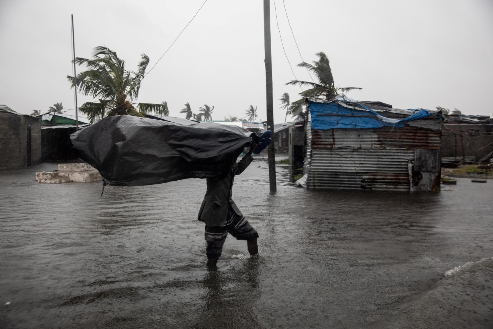العواصف في موزمبيق