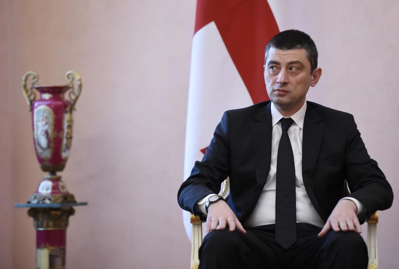 رئيس وزراء جورجيا يعلن استقالته بسبب خلافات مع فريقه الحكومي