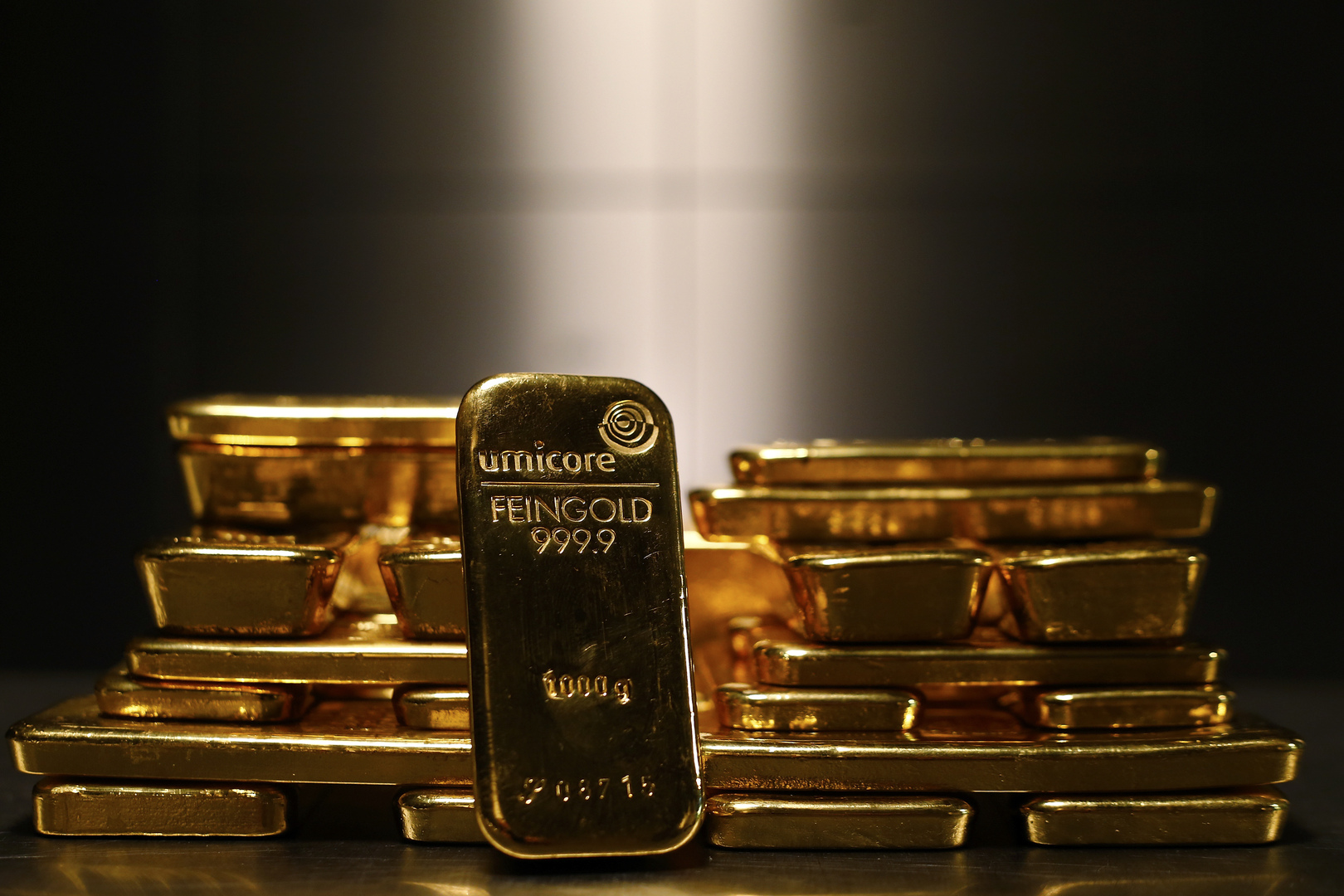 Gold is rising from its lowest level in two and a half months