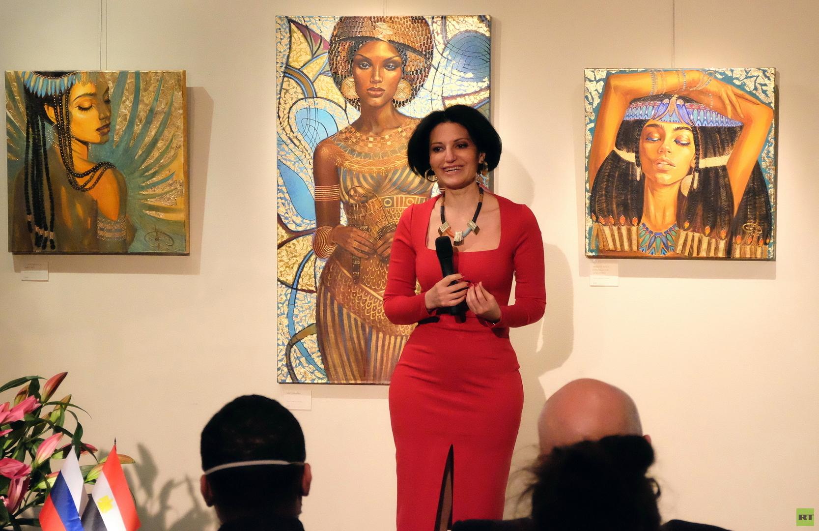 موسكو تشهد عرضا فنيا بارزا لجمال ملكات مصر