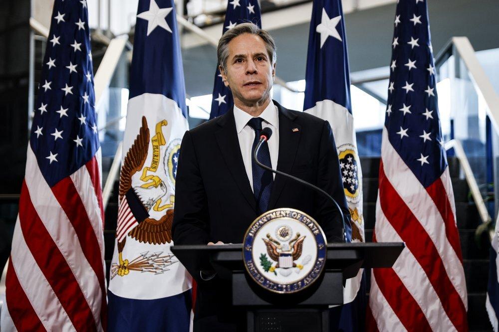بلينكن يبحث مع غني مراجعة واشنطن استراتيجيتها في أفغانستان