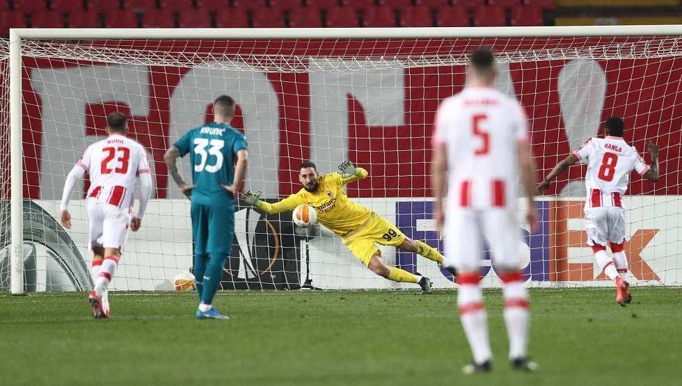 Watch ... the goals of Milan and its host Zvezda, the Serbian