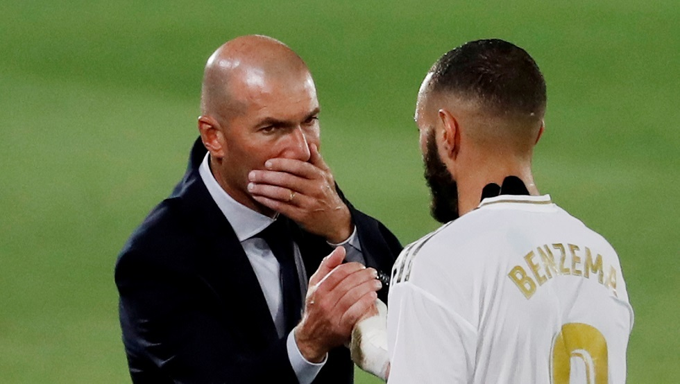 Zidane: Benzema is suffering from