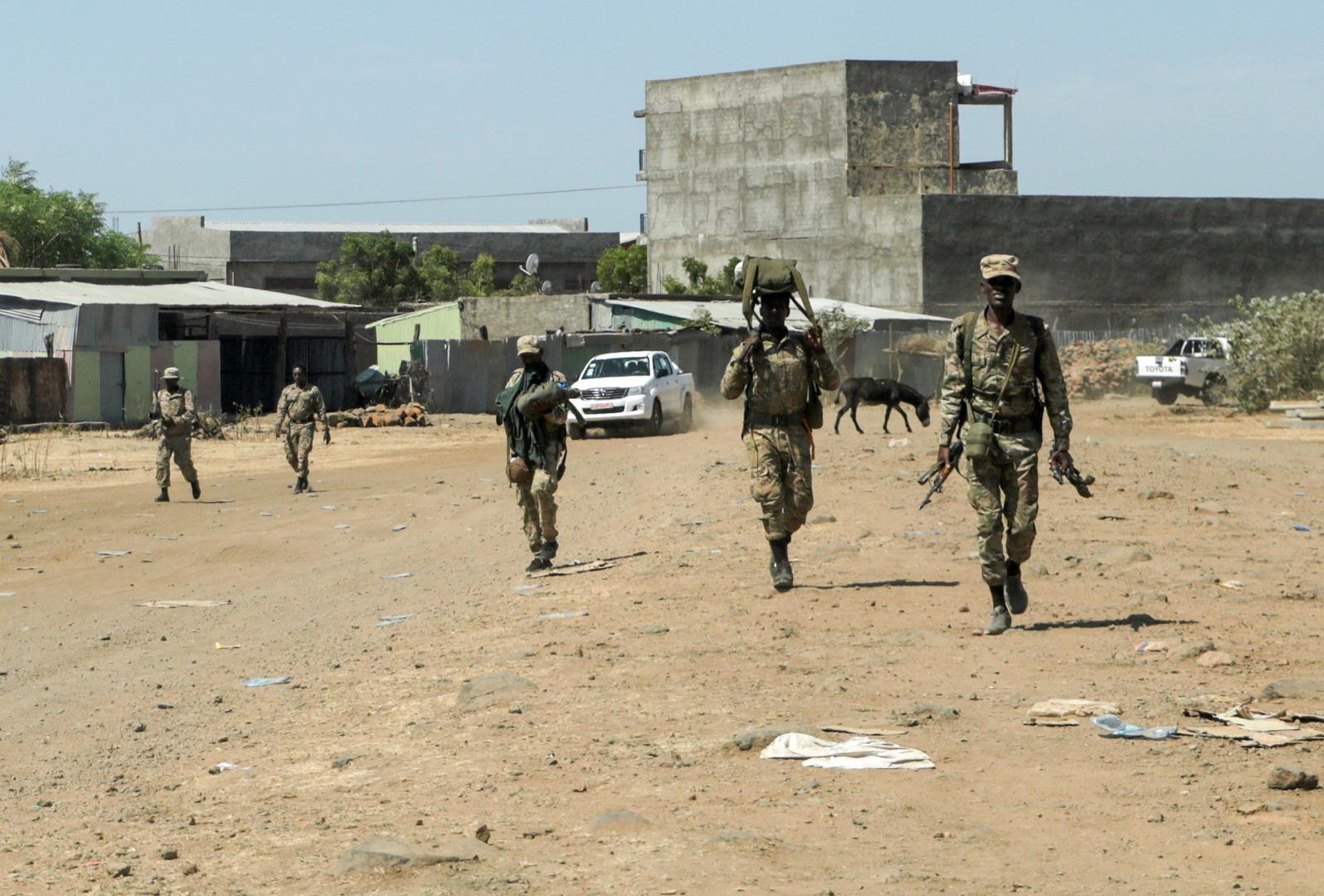 عناصر في القوات الخاصة الإثيوبية.