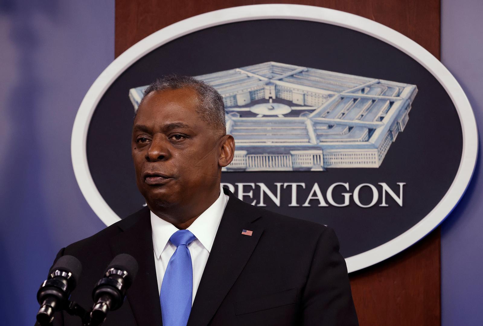 وزير الدفاع الأمريكي يؤكد لكييف تمسك واشنطن بدعمها في مواجهة