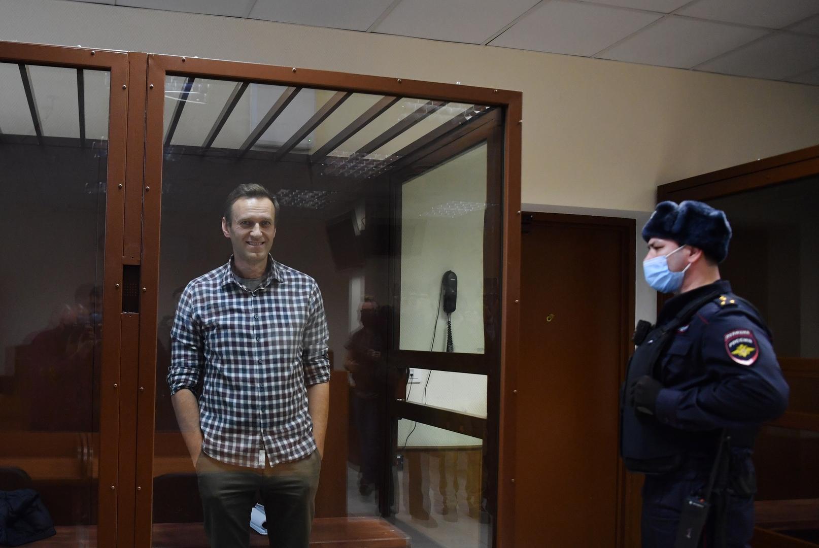 محكمة روسية ترفض طعن نافالني على قرار سجنه