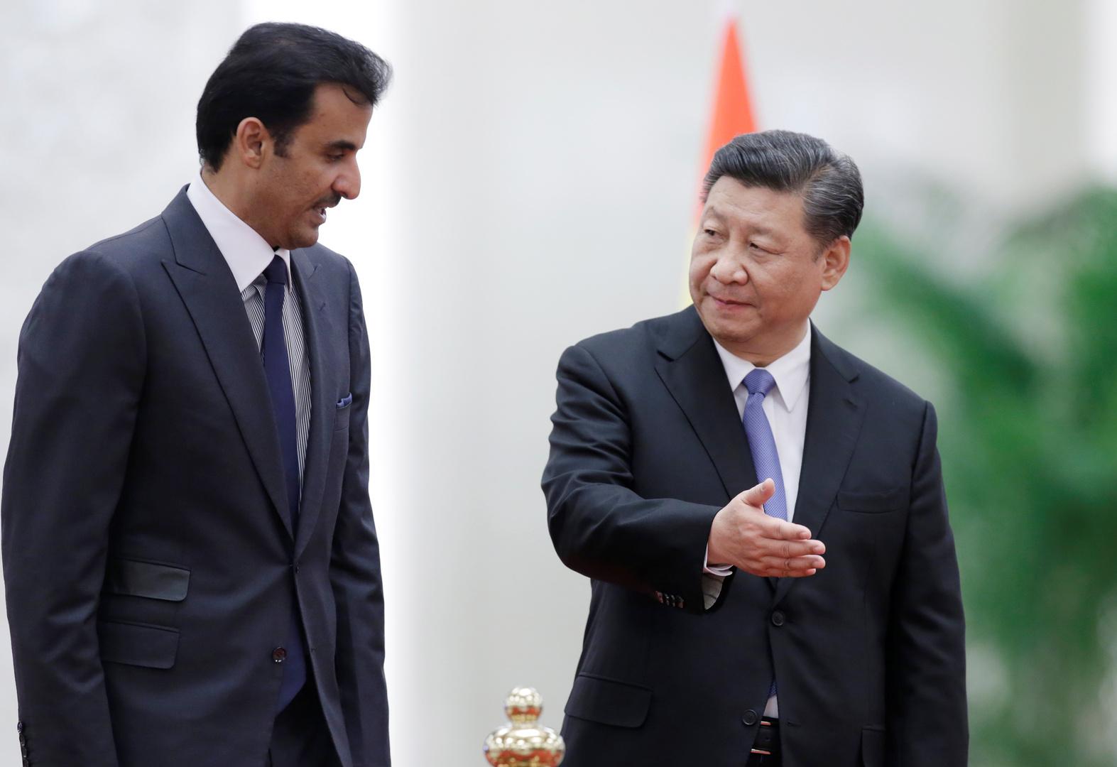 الرئيس الصيني يبعث برسالة إلى أمير قطر