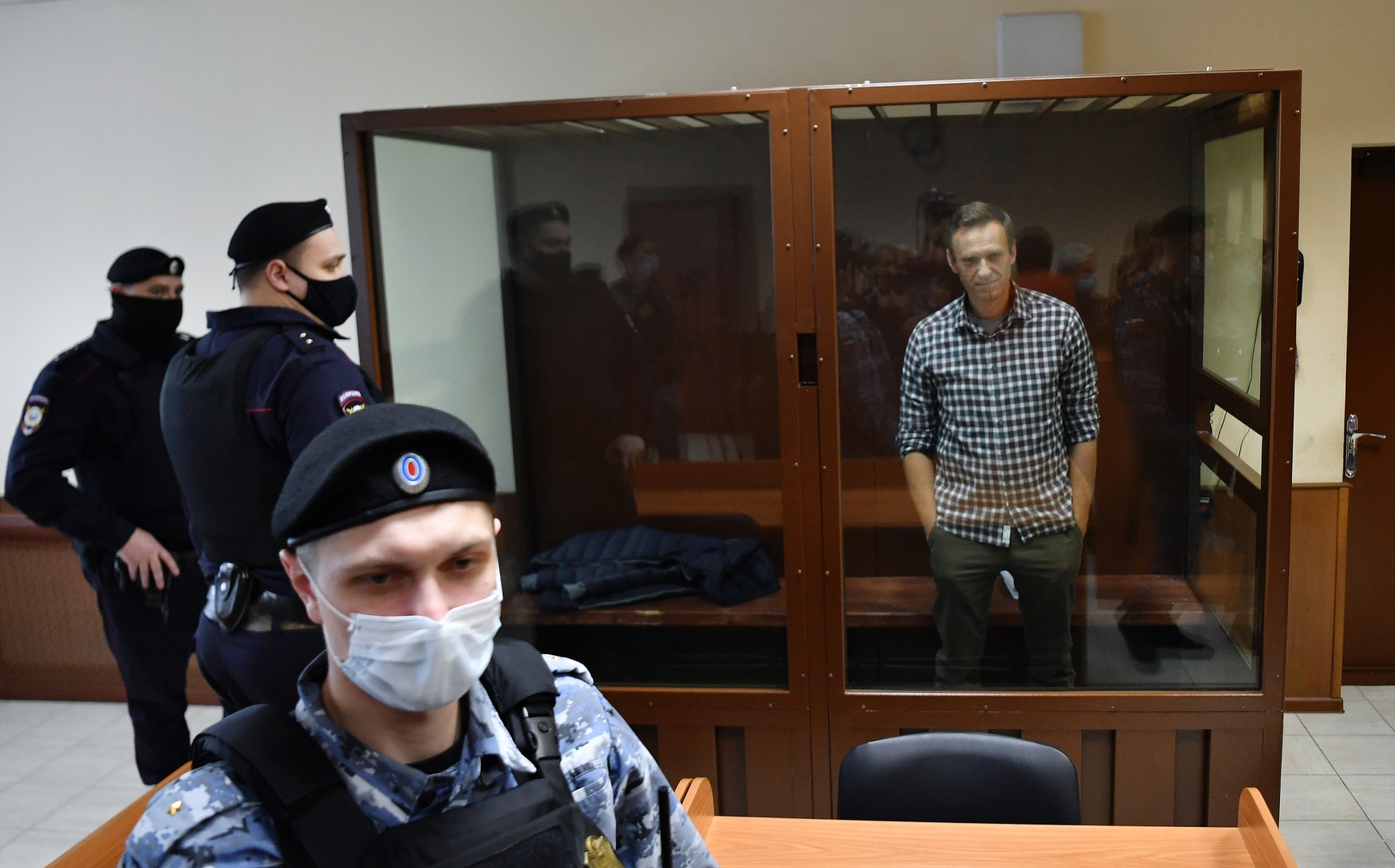 A Russian court is punishing Navalny with a fine of more than $ 11,000 in a defamation case