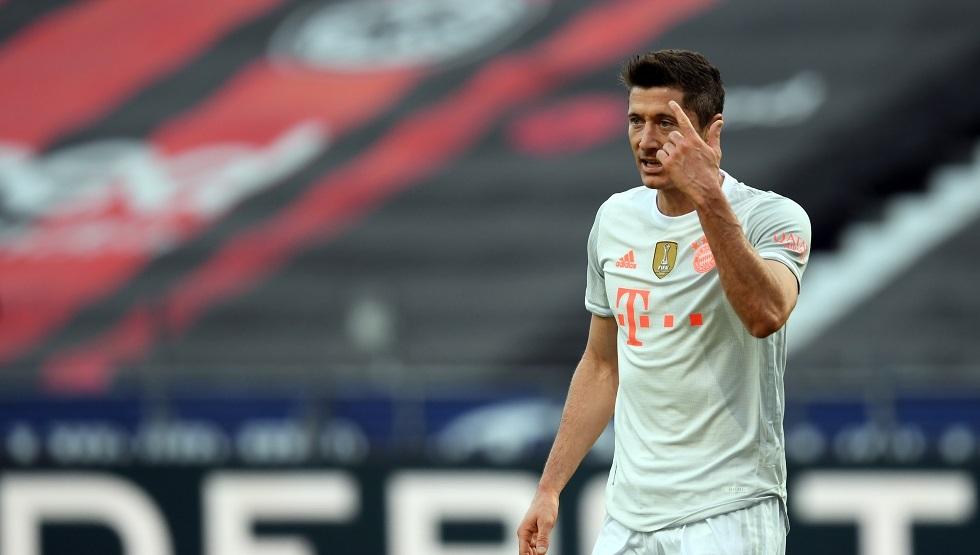 ليفاندوفسكي يهز عرش الهدافين من بينهم رونالدو وميسي (فيديو)