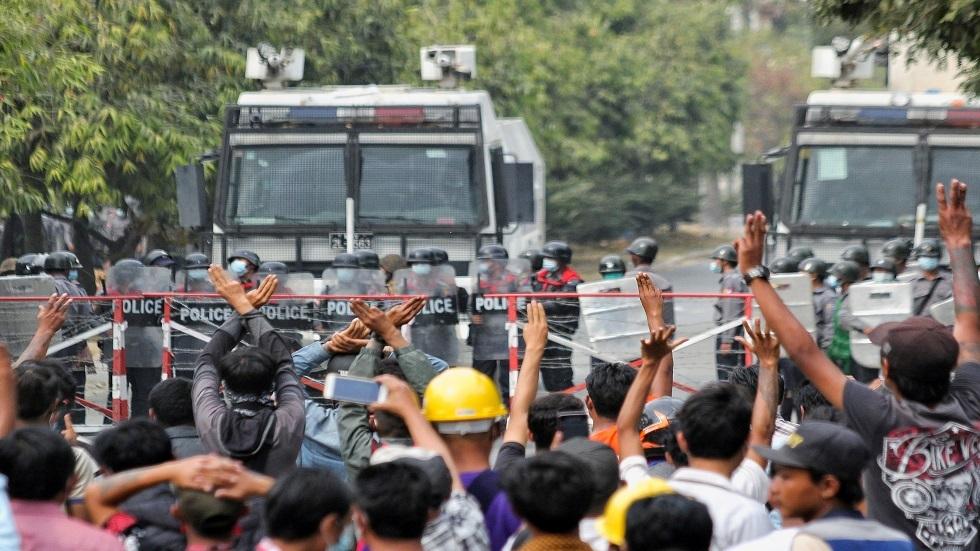 ميانمار.. الشرطة تعتقل ممثلا بعد مقتل شخصين في الاحتجاجات