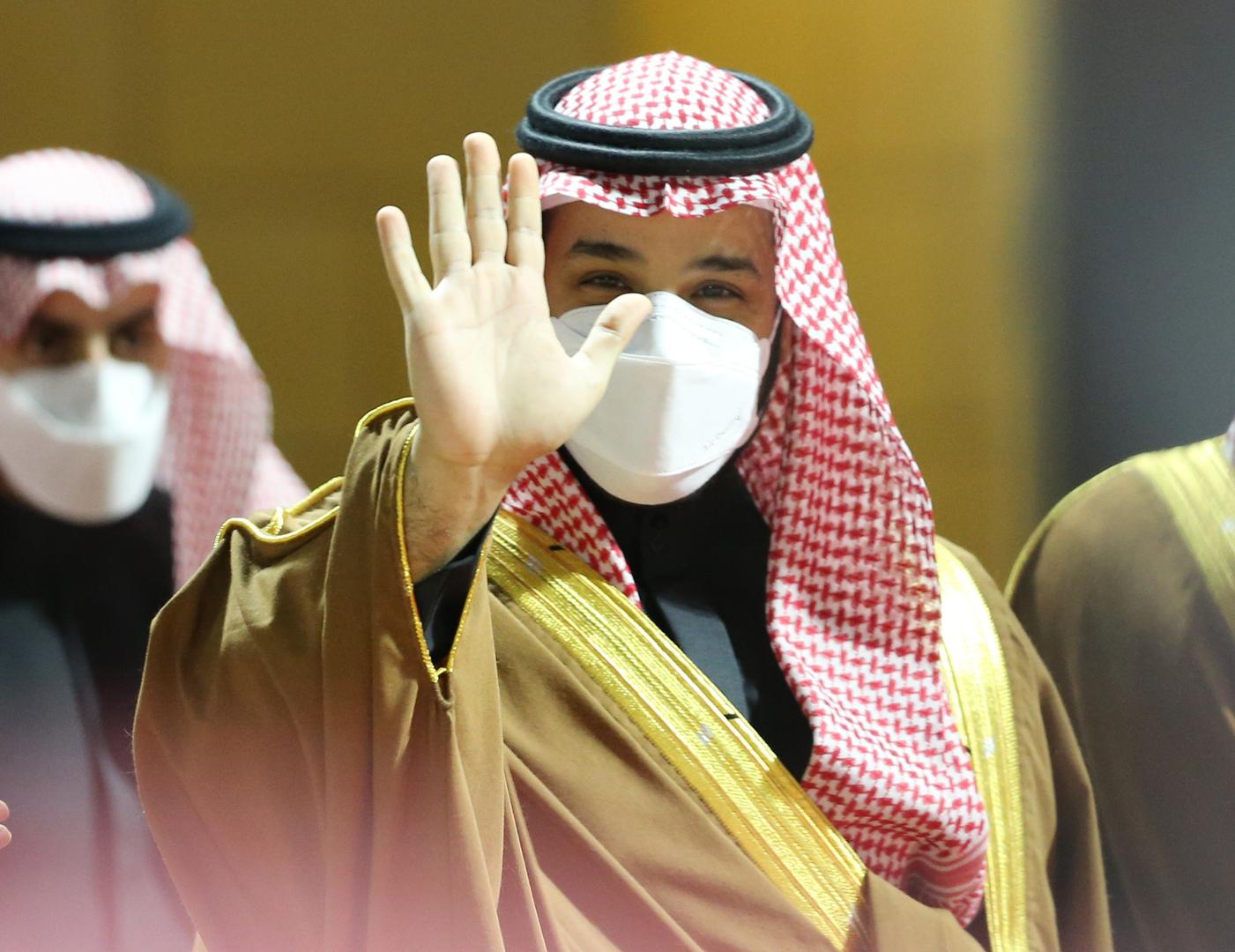 آل الشيخ ينشر صورة جديدة مع بن سلمان